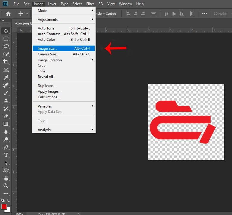 کم کردن حجم عکس در فتوشاپ