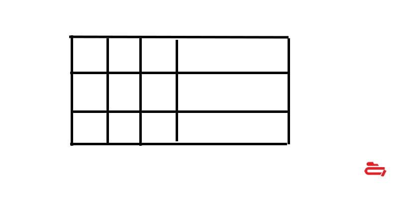 جدول در فتوشاپ